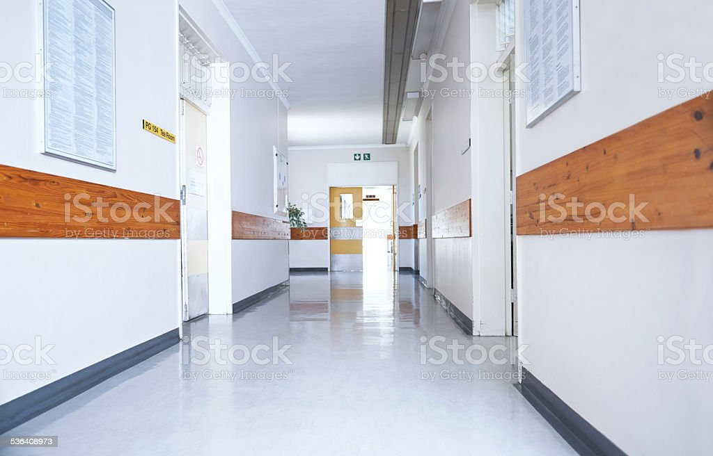 The home for the sick stock photo