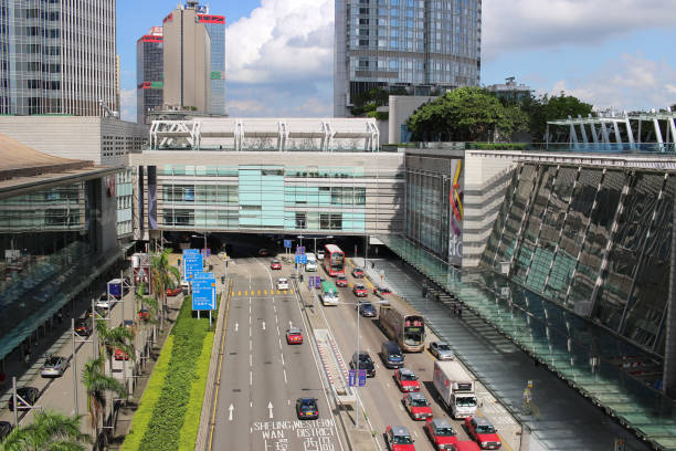 在中央港元香港站圖像檔
