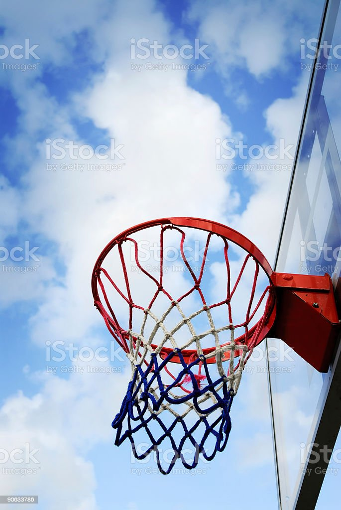 the hoop royalty-free stock photo