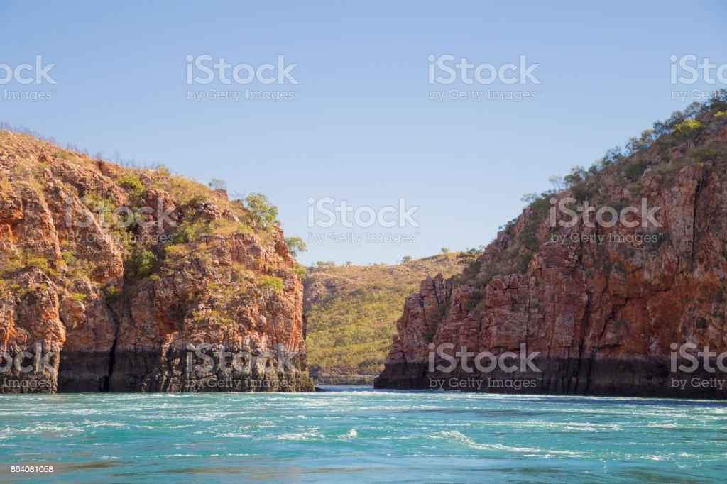 The Horizontal Falls, Talbot Bay, Kimberley, Australia. royalty-free stock photo