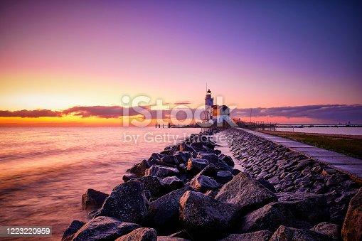 istock The Horse of Marken Lighthouse 1223220959