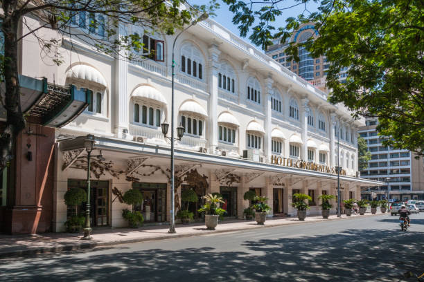 Das Hotel Continental Saigon. – Foto