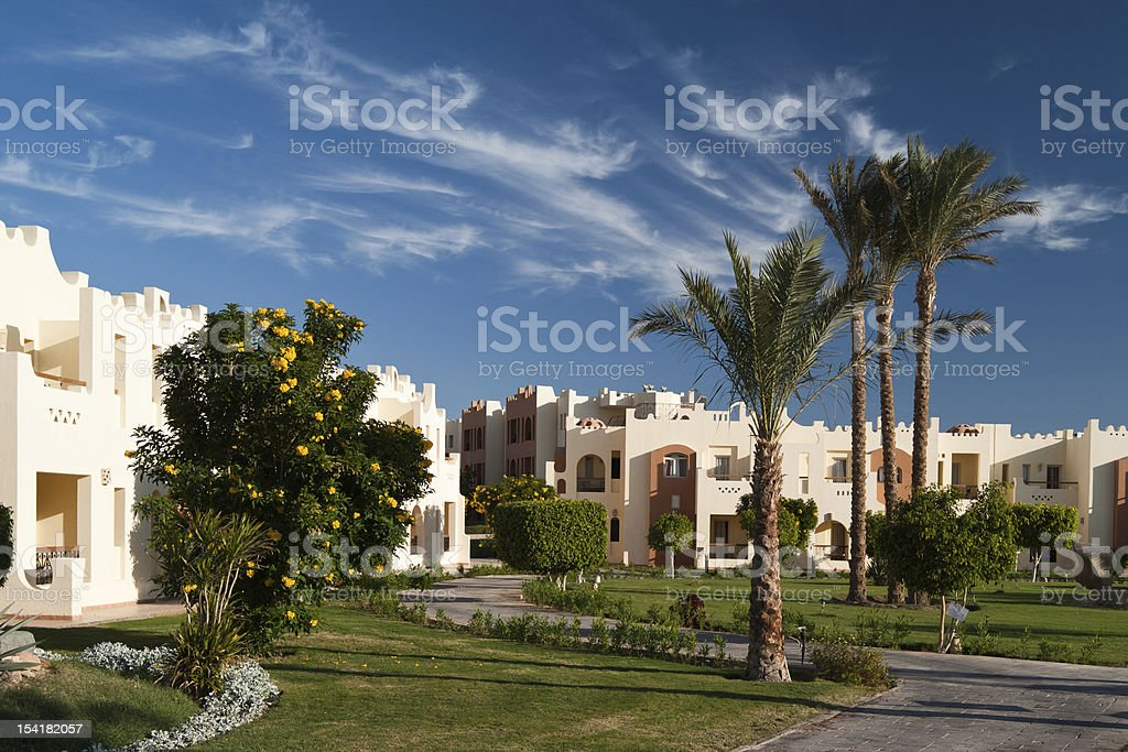 The hotel. royalty-free stock photo