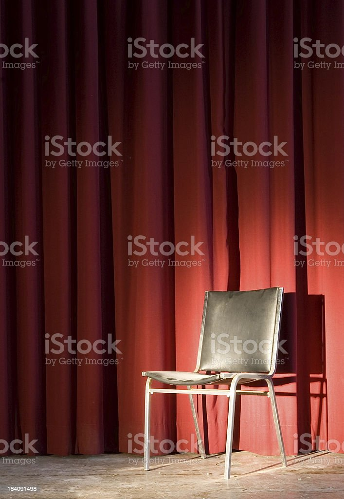 The Hotseat royalty-free stock photo