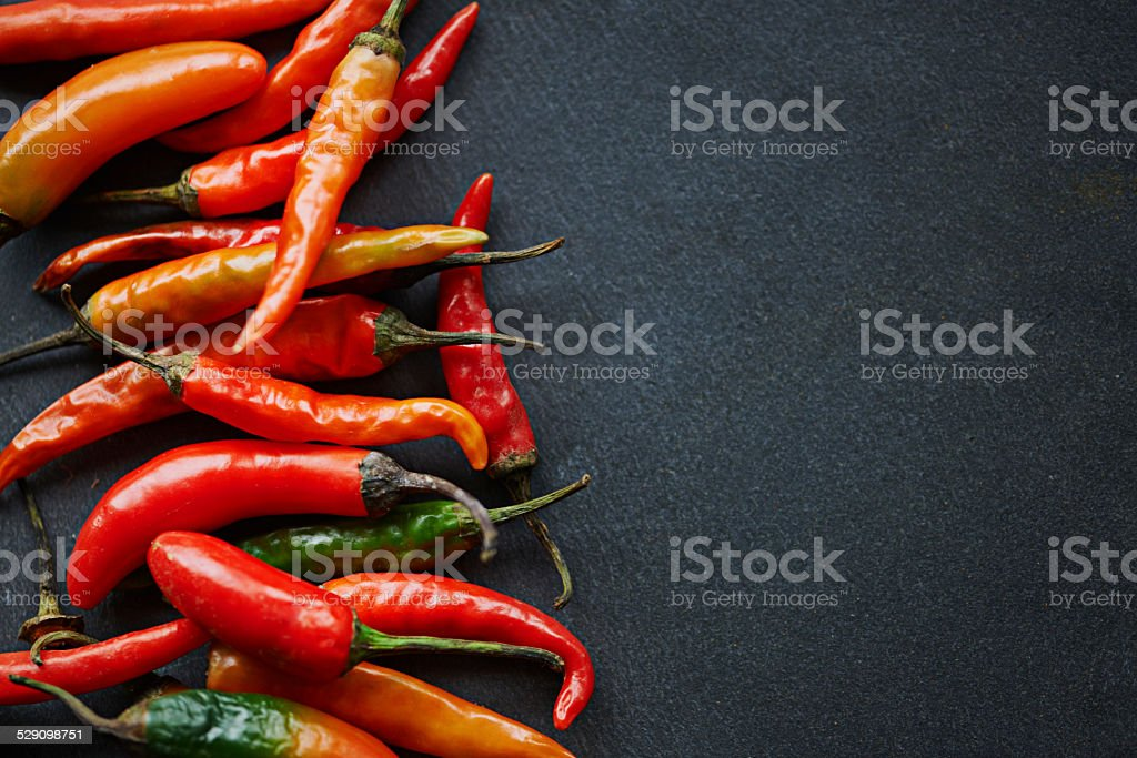 The hotter, the better stock photo
