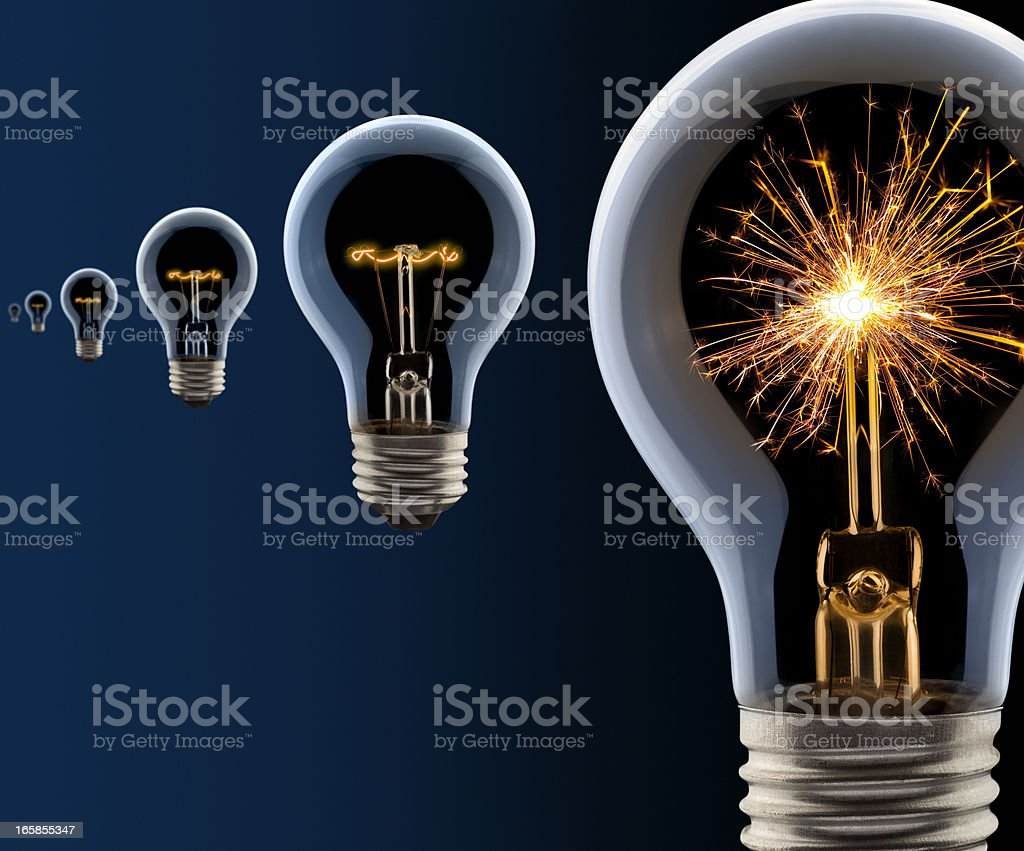 The Hottest New Idea of Them All! stock photo