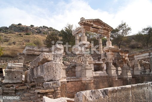 istock The house in Ephesus 474953402