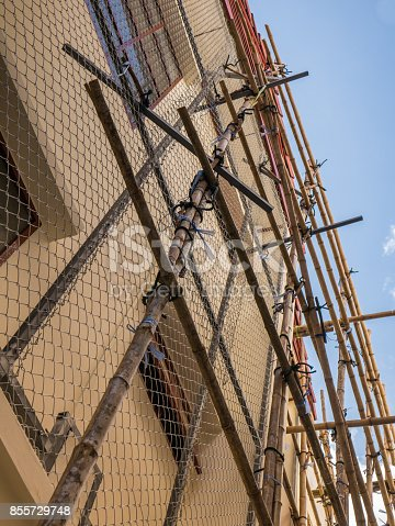 istock The house installs a metal mesh to protect th 855729748