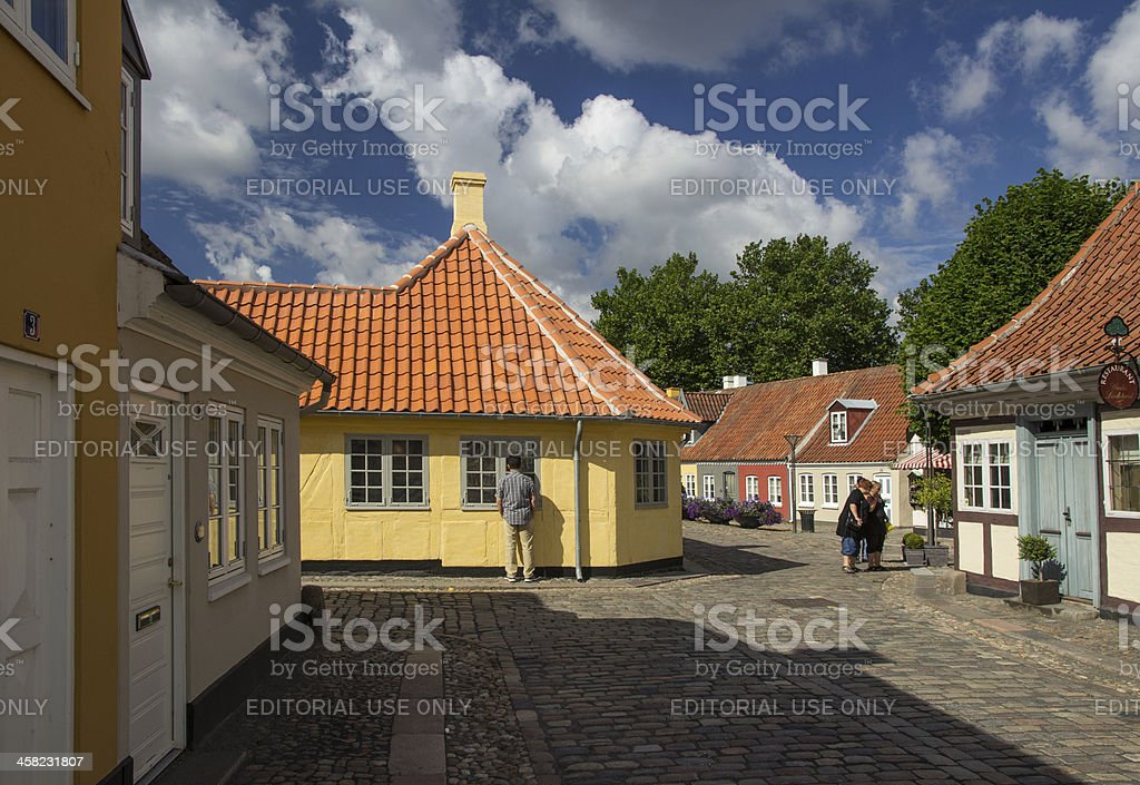 The house of Hans Christien Anderson stock photo