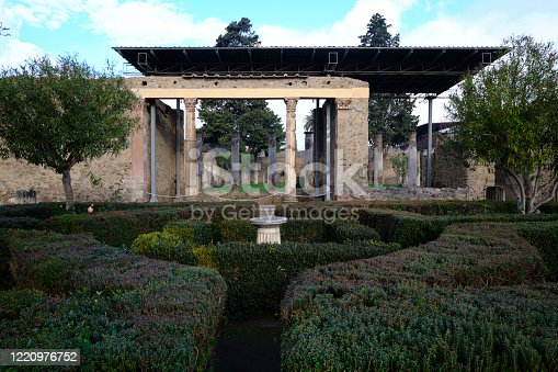 istock The House of the Faun in Pompei 1220976752