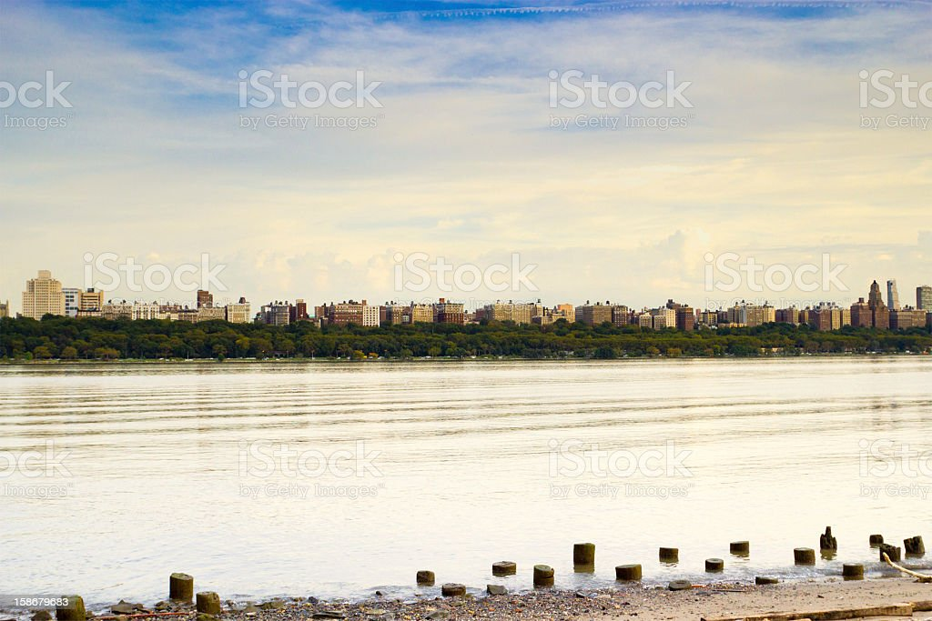 The Hudson River, New York stock photo