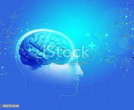 istock The Human Body - Brain 466264846