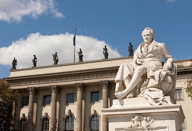 the Humboldt Universität stock photo