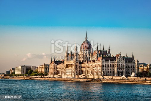 The Hungarian Parliament In Pest
