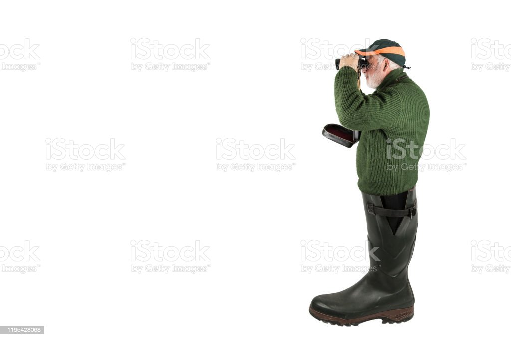 The Hunter's Wellies. - Royalty-free Adult Stock Photo