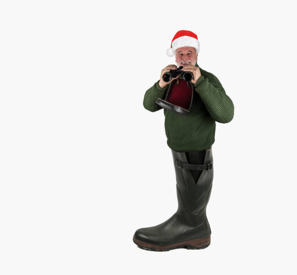 The Hunter's Wellies. stock photo