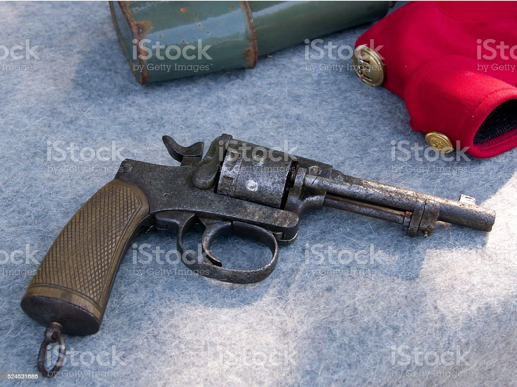 The hussar relics. stock photo