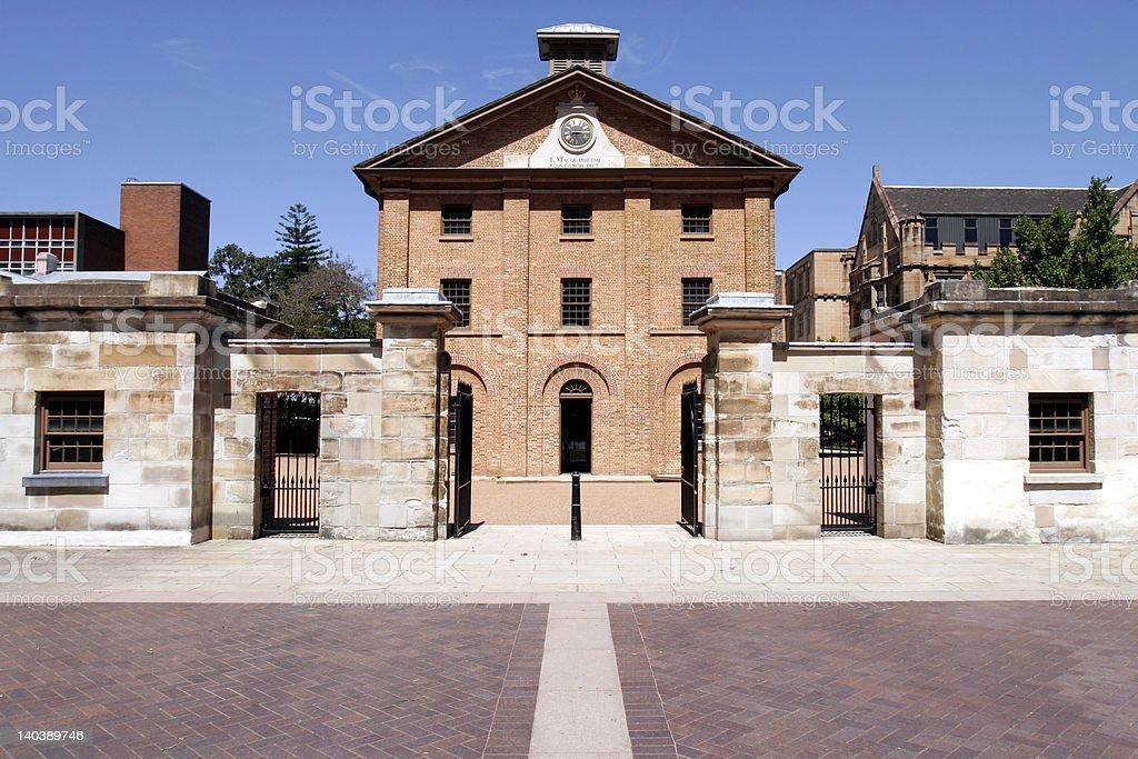 The Hyde Park Barracks stock photo