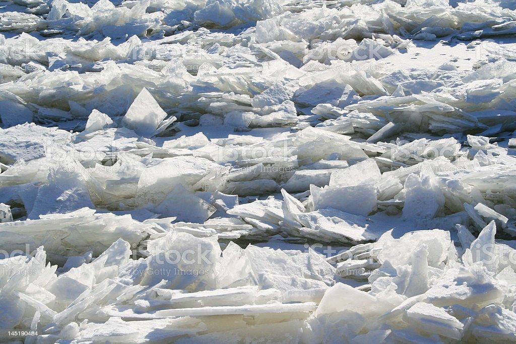 The Ice Shards royalty-free stock photo