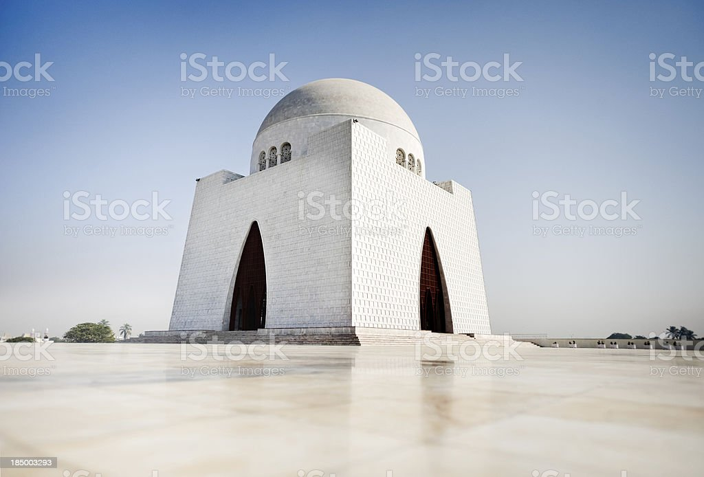 The icon of Karachi stock photo