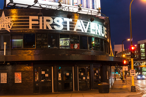 The Iconic First Avenue Music Venue in Downtown Minneapolis