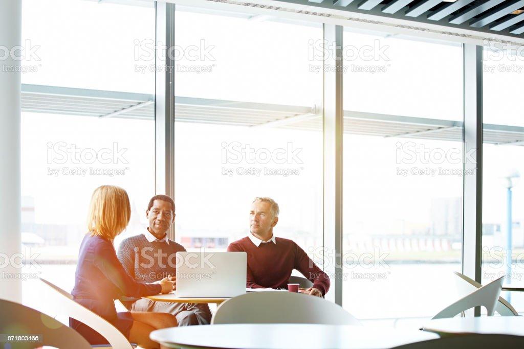 Die Ideen fließen in die Vorstandsetage – Foto