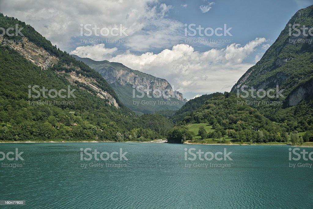 The idyllic Lake royalty-free stock photo