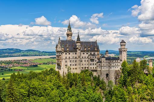 The idyllic Neuschwanstein Castle
