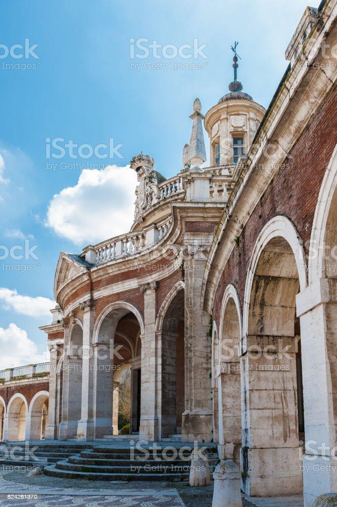 El Iglesia Real de San Antonio. Real iglesia de San Antonio, Aranjuez, España - foto de stock