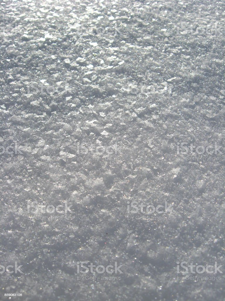 The image of snow cover background stock photo