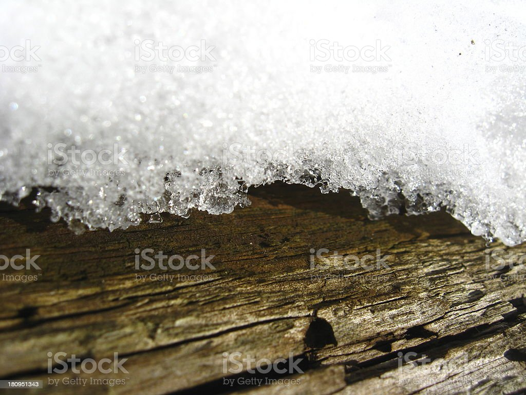 The image of snow cover royalty-free stock photo