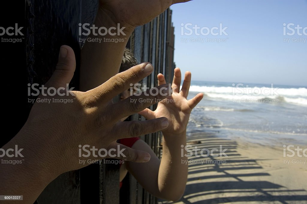 The Immigration Issue stock photo