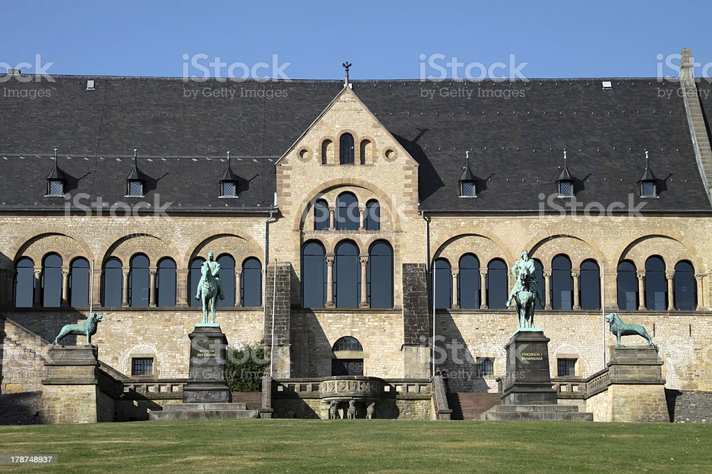 The Imperial Palace in Goslar stock photo