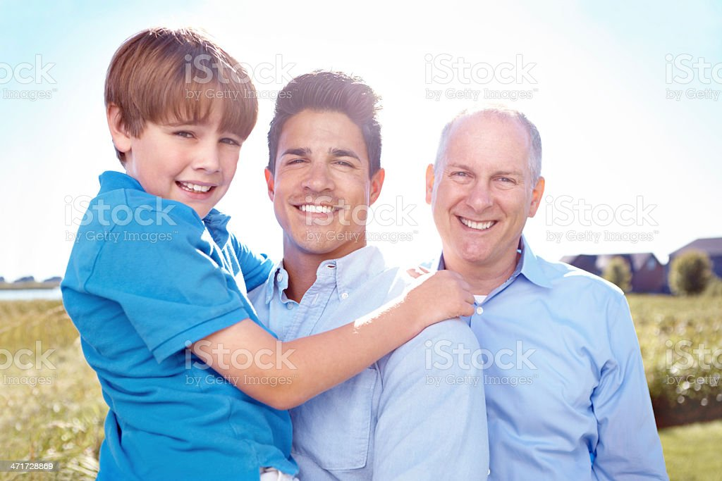 The importance of family royalty-free stock photo