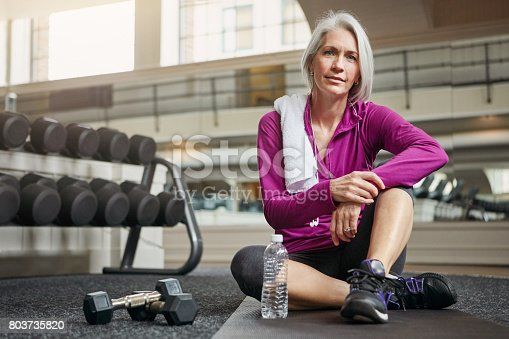 istock The importance of health increases with age 803735820