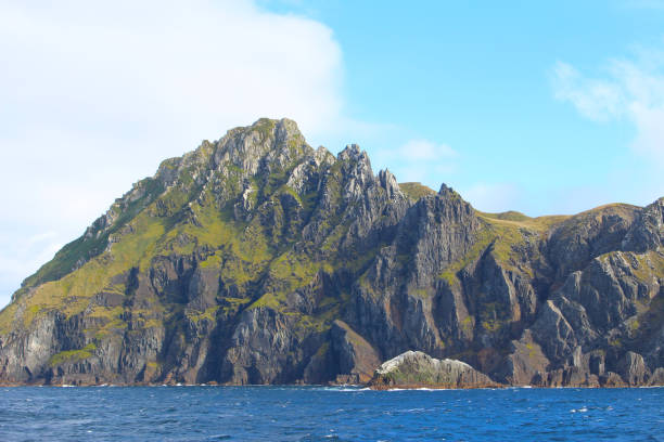 Die imposanten Klippen von Kap Horn, der südlichsten Landzunge des Archipels Tierra del Fuego in Chile – Foto