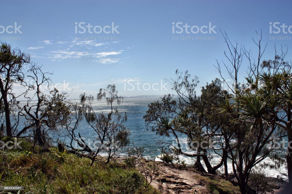 The incredible view of Noosa royalty-free stock photo