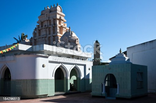 South Africa, Durban,the Indian Soobramoney temple