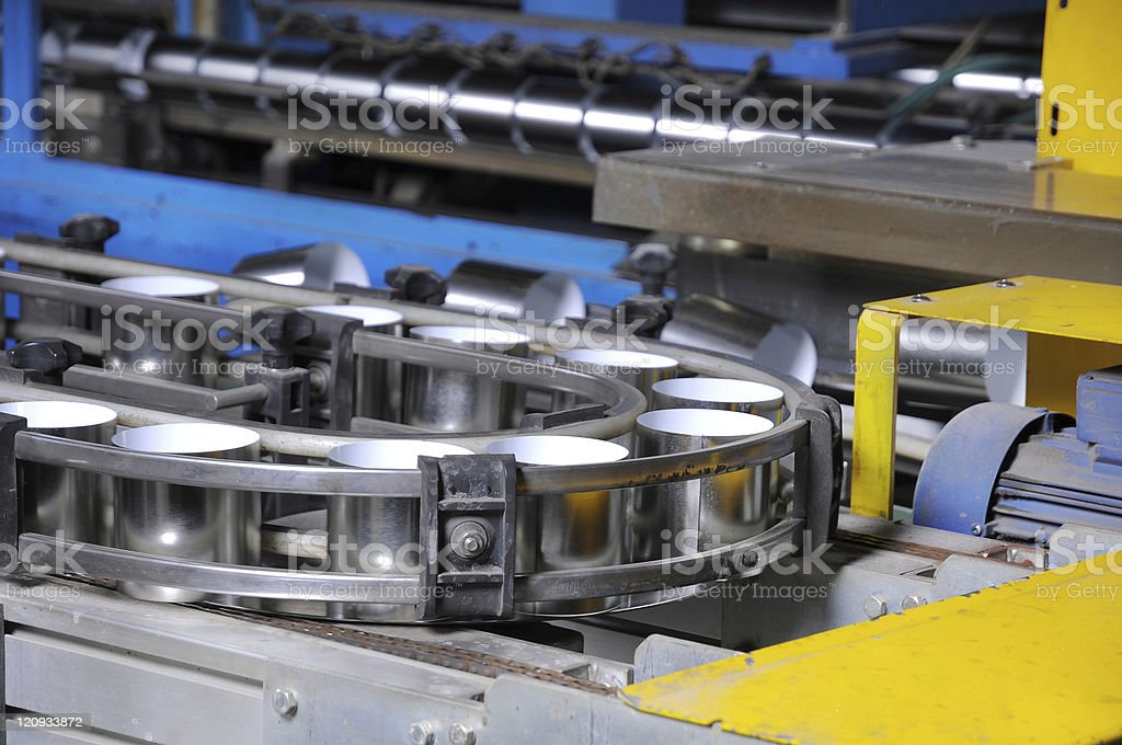 The industrial equipment. stock photo
