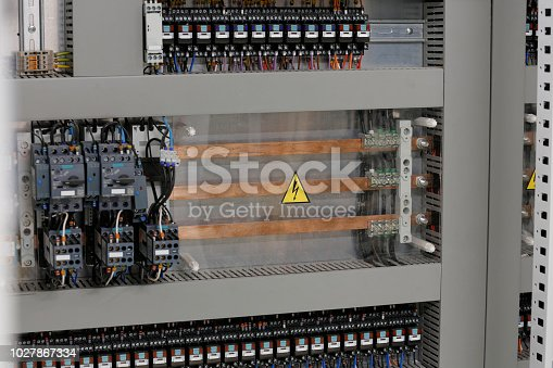 The industrial unit of power distribution system
