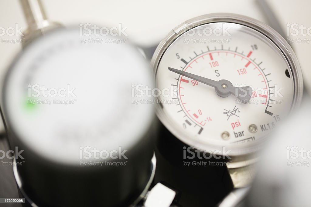 The industrial unit of pressure system royalty-free stock photo