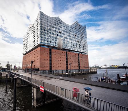 The innovative Elbphilharmonie Concert Hall in Hamburg