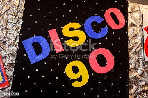 istock the inscription Disco 90 903069208