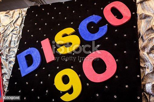 istock the inscription Disco 90 903069346