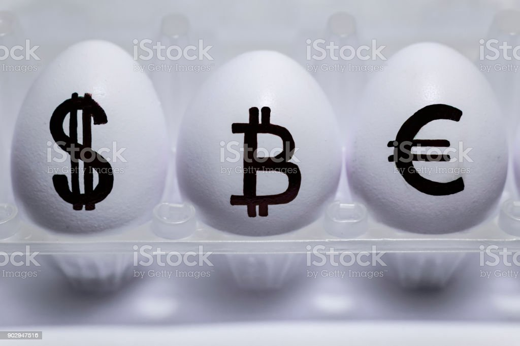 The Inscription On Chicken Eggs For Advertising And Propaganda Of