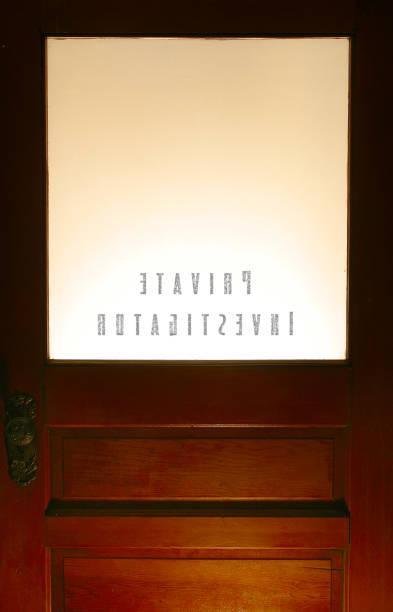 The inside of a private investigators office door picture id172176886?b=1&k=6&m=172176886&s=612x612&w=0&h=mpknuqrwliwsgc fskwlkk b31uwarrmx2stt7aqsog=