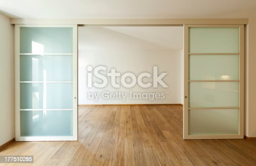 istock The interior of a large empty home 177510285