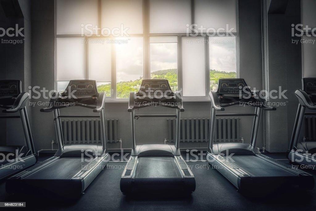 Treadmill, gym, cardiovascular exercise, equipment, exercise...