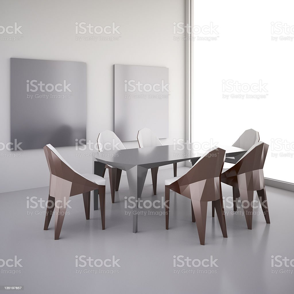 The interior of room royalty-free stock photo