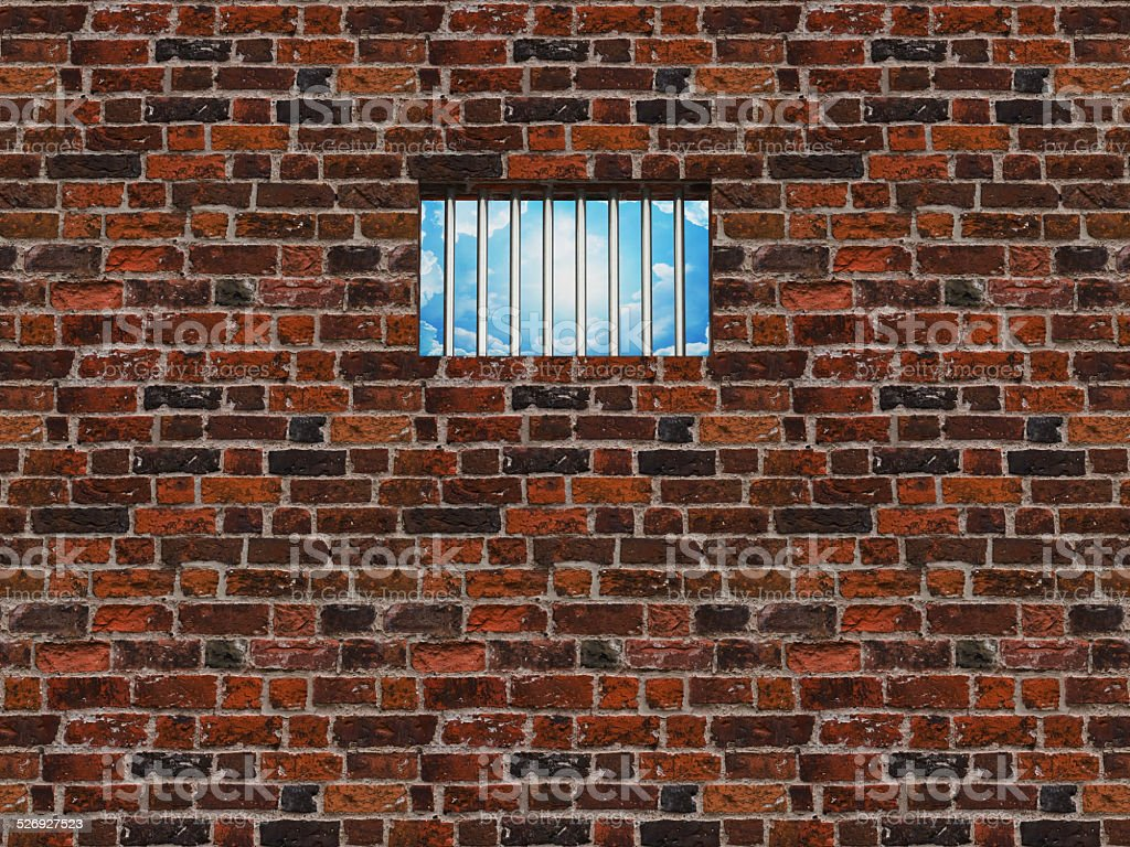 The Interior Of The Prison Cell Barred Window Stock Photo & More